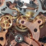Vintage clockwork — Stock Photo
