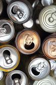Aluminium cans — Stock Photo