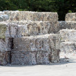Stock Photo: Paper bales