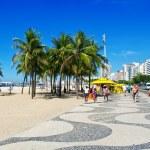 Copacabana beach in Rio de Janeiro — Stock Photo #10965039
