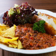 Chilli con carne with potato — Stock Photo #10976176