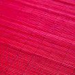 Red bamboo pad — Stock Photo
