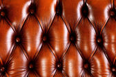 Brown leather texture background — Stockfoto