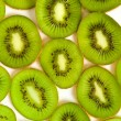Section of kivi fruit — Stock Photo