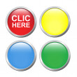 Royalty-Free Stock Vector Image: Set button