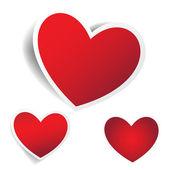 Hearts — Stockvektor