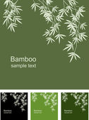 Fond de bambou — Vecteur