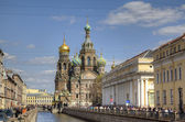 Church of the Savior on Spilled Blood, St.Petersburg, Russia — Stock Photo