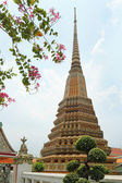Temple of the lying Buddha (Wat Pho) — Stock Photo