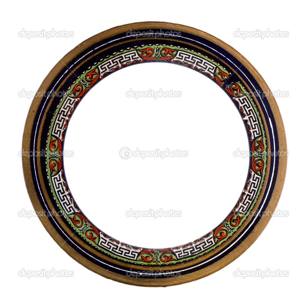 Ornamented, very old, plated empty picture frame for putting your pictures in — 图库照片 #11113264