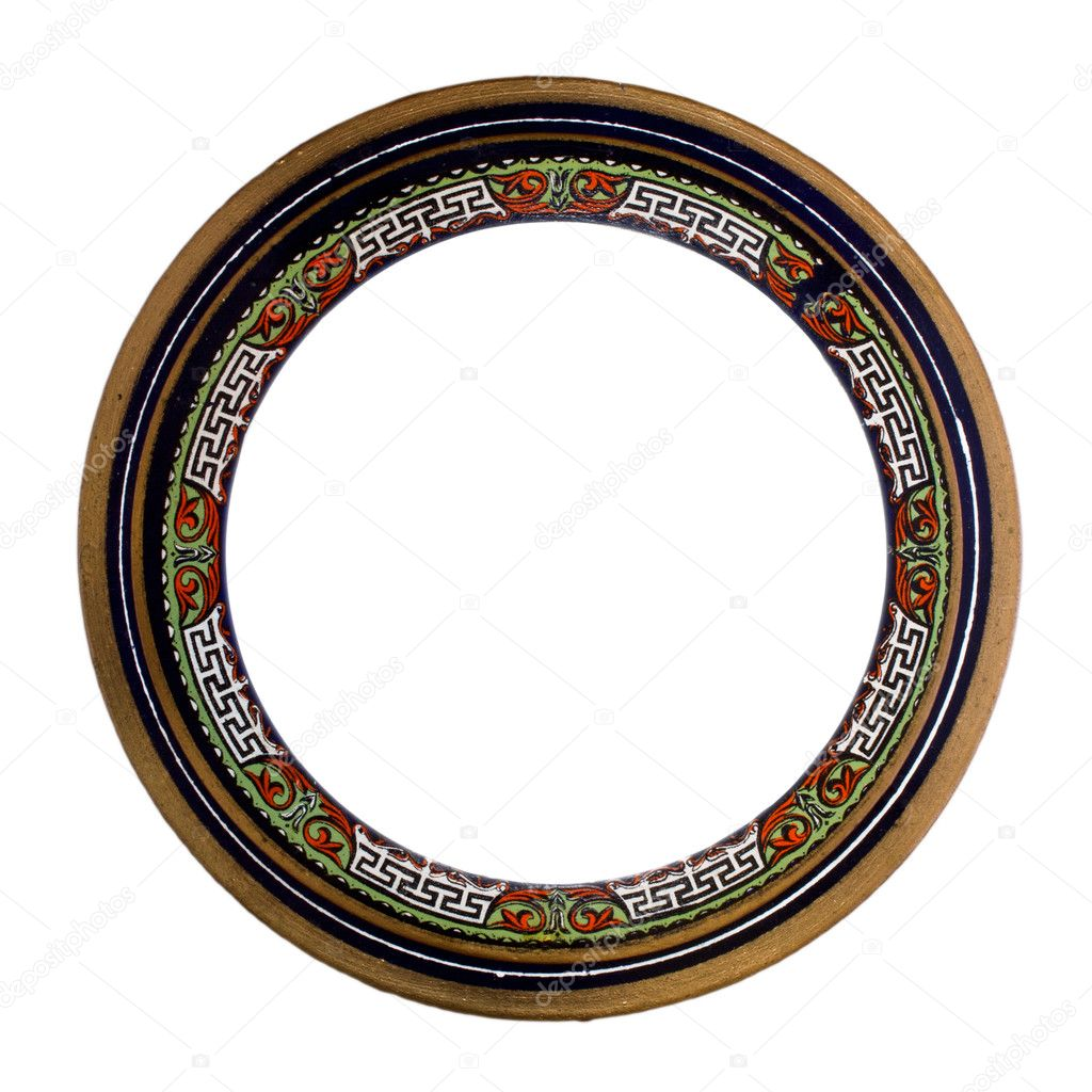 Ornamented, very old, plated empty picture frame for putting your pictures in — Stockfoto #11113264