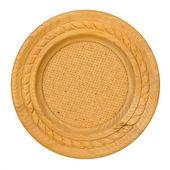 Frame de madeira oval — Foto Stock