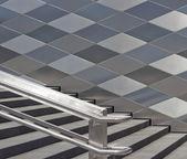 现代楼梯 — 图库照片