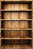 Bookshelf — Stock Photo