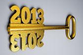 A 2013 concept — Stock Photo