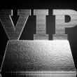 &amp;quot;vip&amp;quot; on a podium - Stock Photo