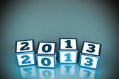 Cubes 2013 — Stock Photo