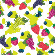 Seamless pattern of berry — Stock Vector #11251243