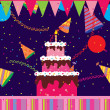 Royalty-Free Stock Vector Image: Birthday Cake