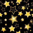 Abstract seamless background with stars - Vettoriali Stock