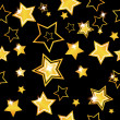 Abstract seamless background with stars - Stockvectorbeeld