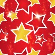 Vector seamless pattern with the stars - Stock Vector