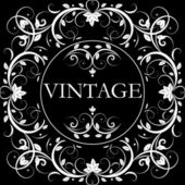 Vector vintage decor — Stock Vector