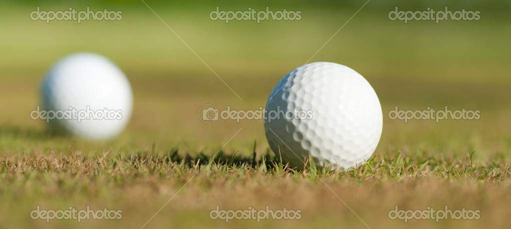 Golf equipment — Stock Photo #10868458