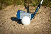 Profecional equipment for playing golf — Stock Photo