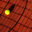 Tennis shadow abstract - Stock Photo