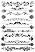 Set of graphic elements for design — Stock Vector