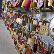 Colored padlocks — Stock Photo