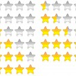 Royalty-Free Stock Photo: Rating stars