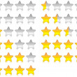 Rating stars — Stock Photo #10746849