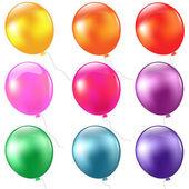 大集的气球 — 图库矢量图片