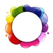 Color y el globo de diálogo — Vector de stock