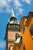 German Church in Stockholm — Stock Photo