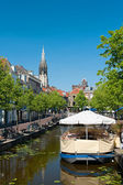 View on Delft channel — Stock Photo