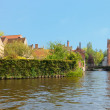 Stock Photo: Wonderful channels of Brugge