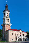 Town Hall Tower in Kamyanets-Podilskyi — Stock Photo
