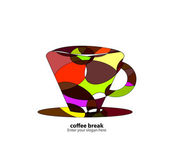Logo - Coffee — Stock Vector