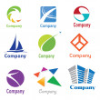 Royalty-Free Stock Vector Image: Logo Design Samples 01