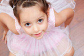 Cute ballerina — Stock Photo