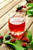 Raspberry juice — Stock Photo