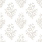 Seamless light floral wallpaper — Stock Vector