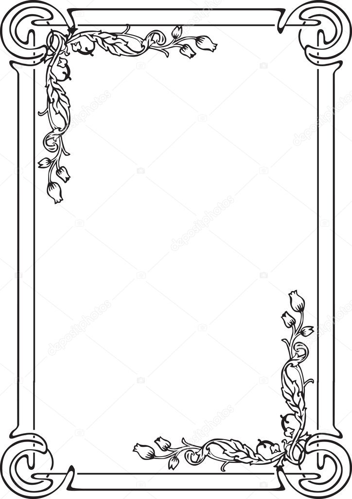 рамки для оформления страниц картинки