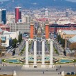 Montjuic fountain — Stock Photo #11094281