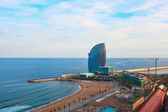 Barcelona beach — Stock Photo