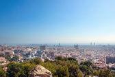 Barcelona flyg — Stockfoto