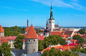 Tallin old city — Stock Photo